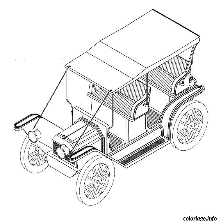 Coloriage dessin voiture autocad - Voiture autocad ...