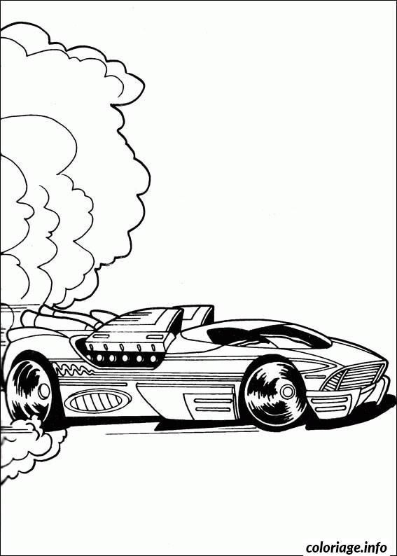 Coloriage Dessin Voiture Hot Wheels Jecolorie Com