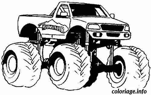voiture 4x4 coloriage 997