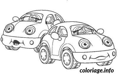 Coloriage dessin voiture drole dessin - Coloriage drole a imprimer ...
