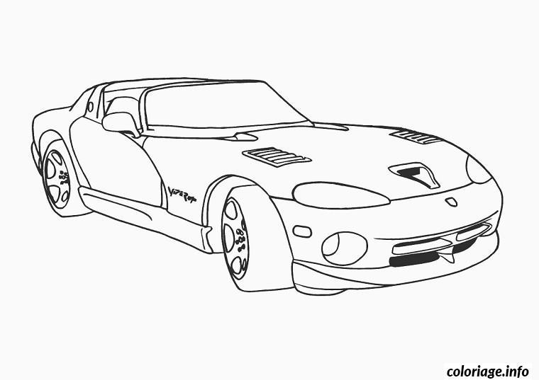 Coloriage voiture de tuning dessin - Dessin de voiture tuning ...