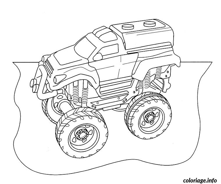 Coloriage voitures de rally - Dessin a colorier voiture de course ...