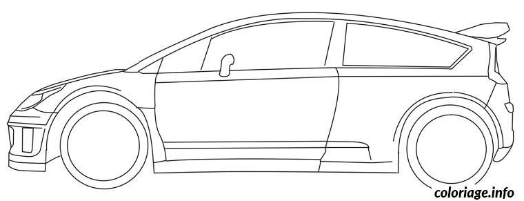 Coloriage dessin voiture rallye dessin - Dessins voiture ...