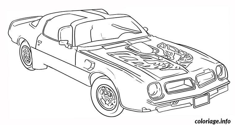 coloriage voitures de marque dessin