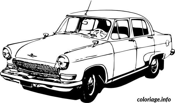 coloriage voiture citroen dessin