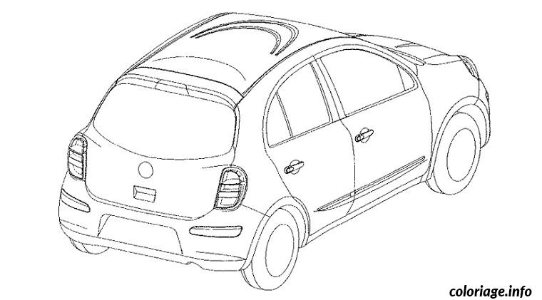 coloriage voiture de rallye dessin