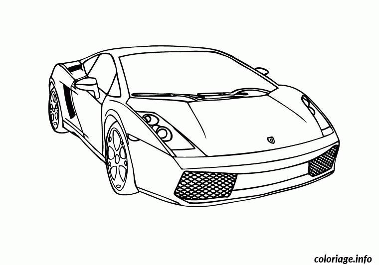 Coloriage voitures lamborghini dessin - Dessin de voiture ancienne ...