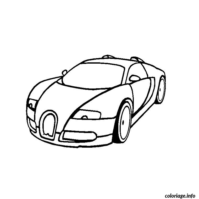 coloriage bugatti veyron. Black Bedroom Furniture Sets. Home Design Ideas