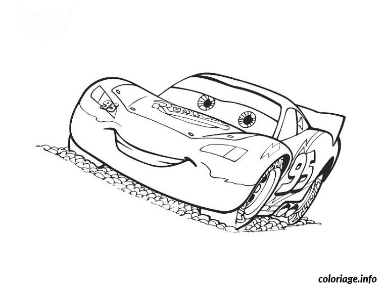 Coloriage Voiture Cars Jecoloriecom