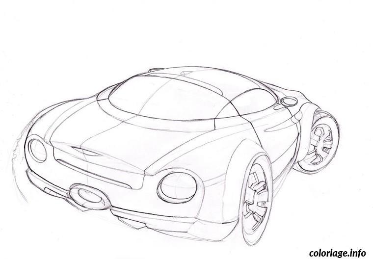 Coloriage voiture jaguar - Jaguar dessin ...