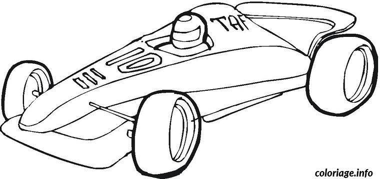 coloriage voitures sport dessin gratuit