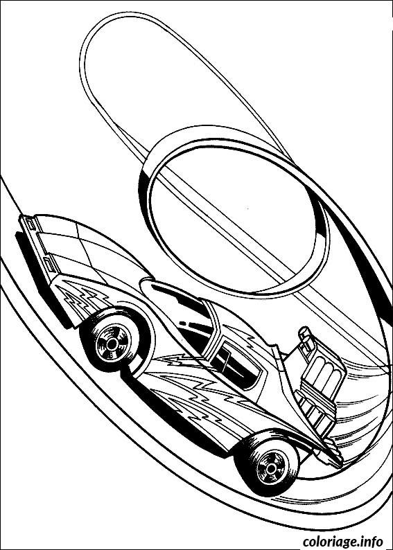 Coloriage voiture hot wheels dessin - Coloriage hot wheels ...