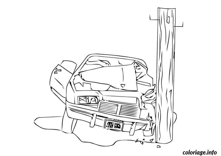 Dessin dessin voiture en panne Coloriage Gratuit à Imprimer