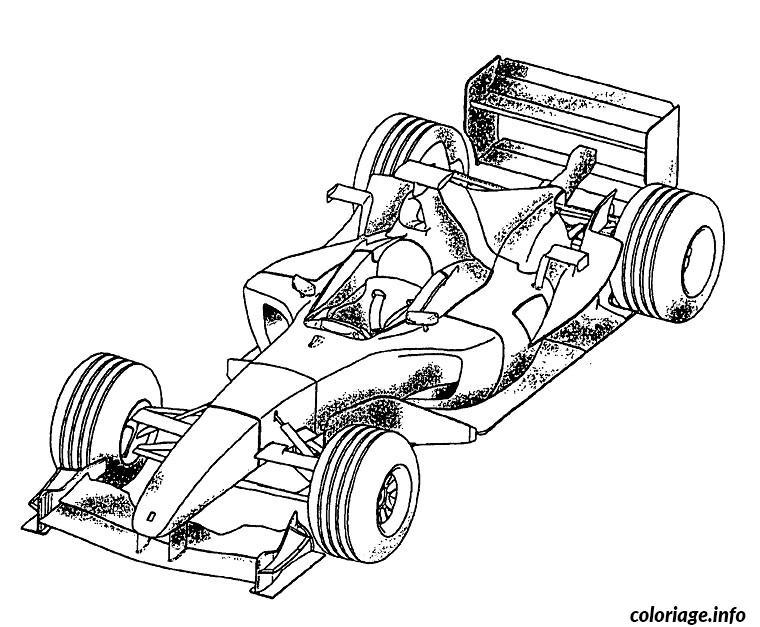 image voiture course coloriage dessin 1112