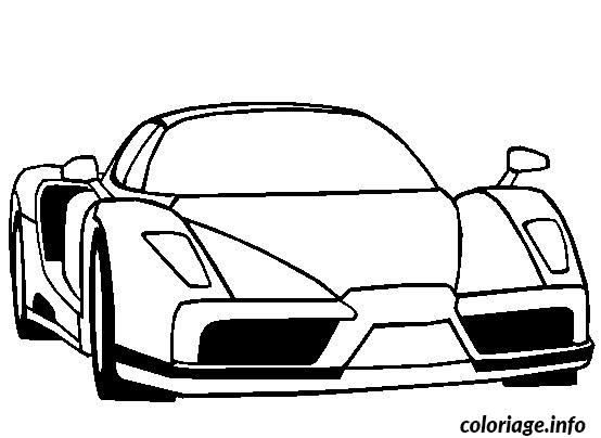 Coloriage voiture ferrarie - Dessin de ferrari ...