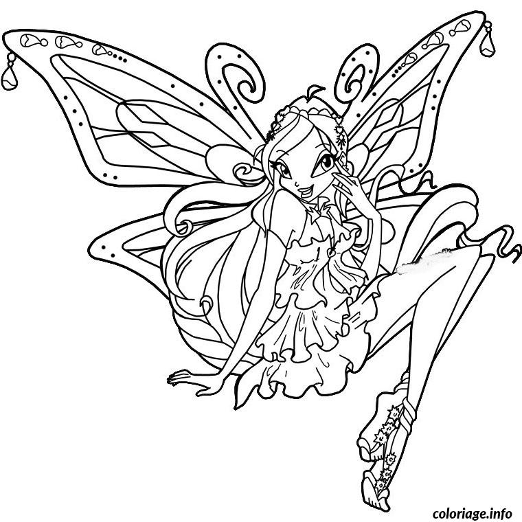 Coloriage winx enchantix dessin - Winx coloriage a imprimer ...