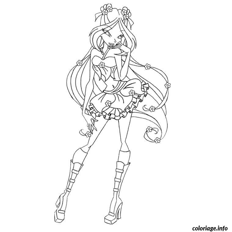 Coloriage winx en believix dessin - Dessin anime des winx club ...