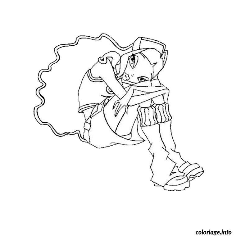 de winx coloriage dessin 1158