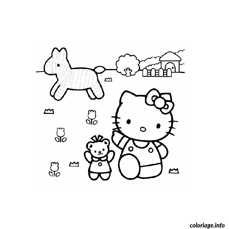 Coloriage vrac hello kitty dessin - Vrac coloriage ...