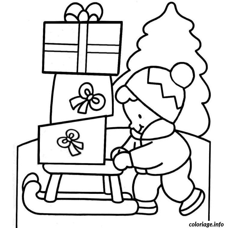 Coloriage De Noel 3 Ans dessin