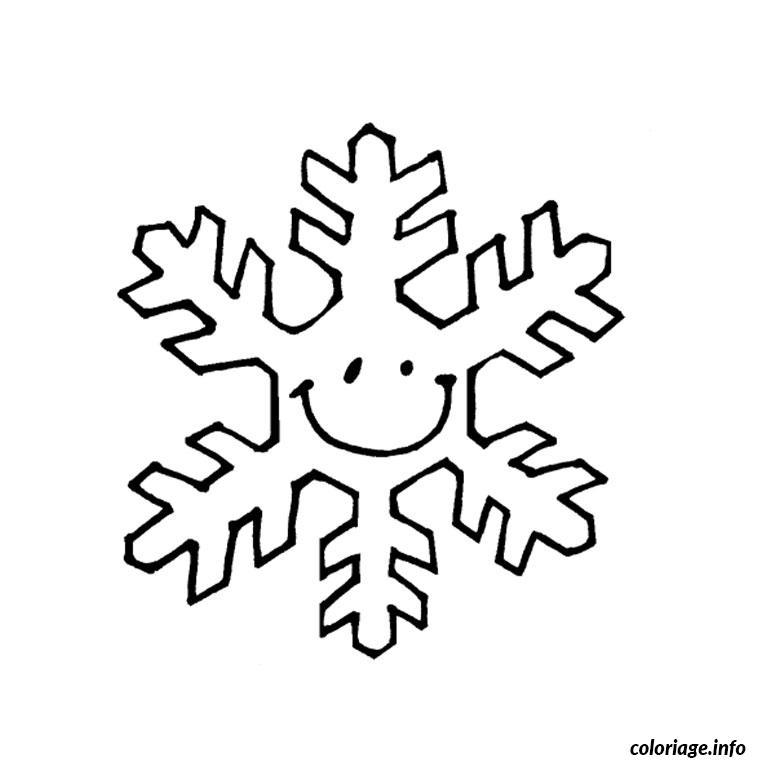 Coloriage noel flocon dessin - Dessin flocon de neige facile ...