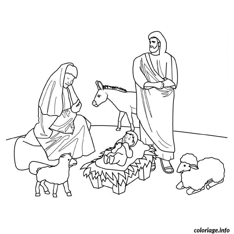 Coloriage noel religieux - Image religieuse gratuite a imprimer ...