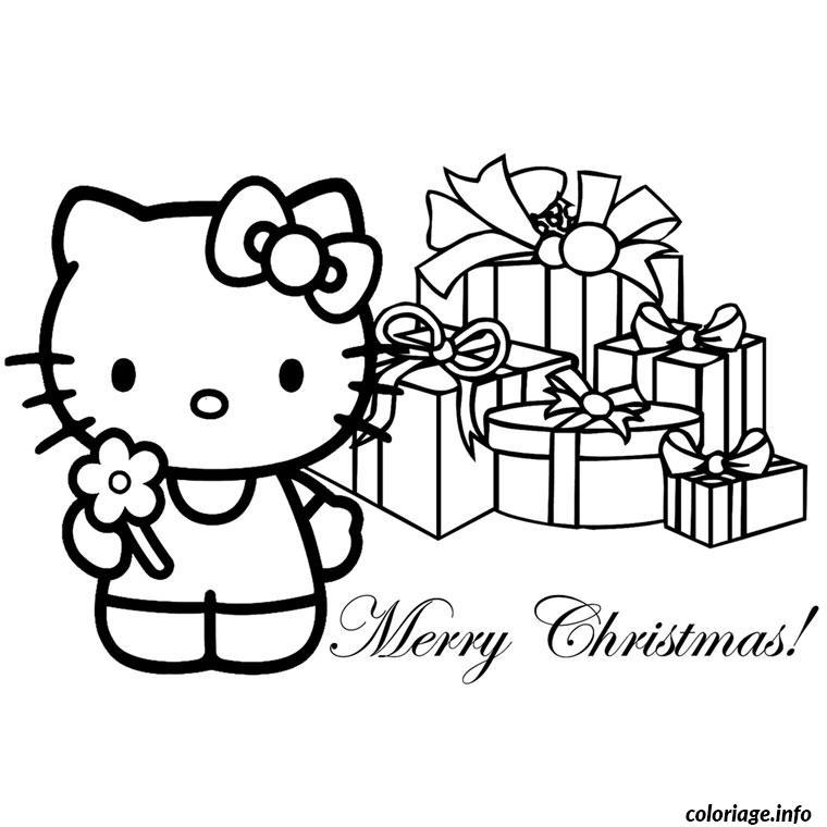 Dessin Hello Kitty Noel à Imprimer Gratuit : coloriage noel hello kitty dessin ~ Pogadajmy.info Styles, Décorations et Voitures