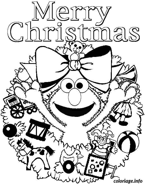 Coloriage Noel Cycle 3 dessin