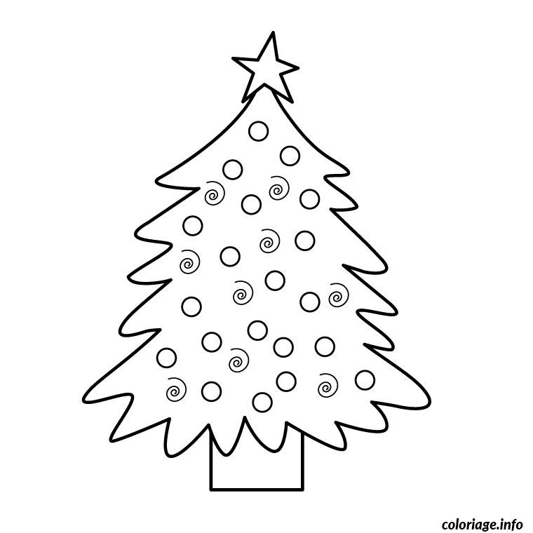 Coloriage noel grand format dessin - Grand dessin a colorier ...