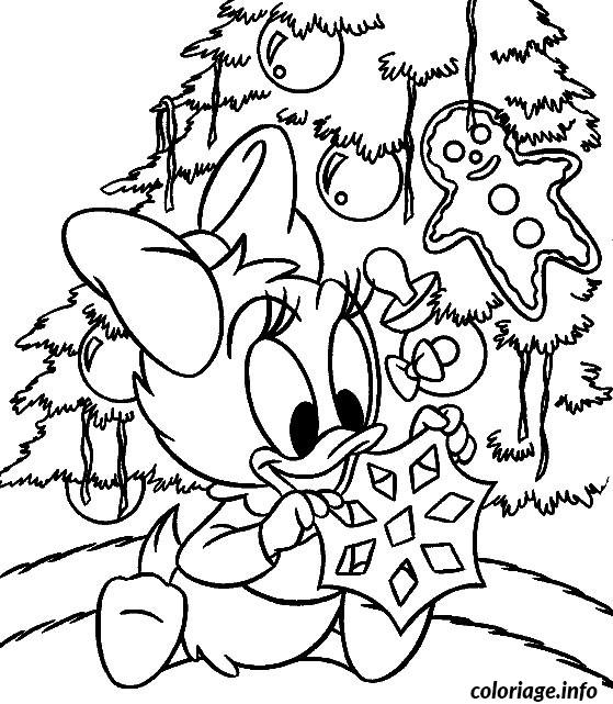 Coloriage Noel Disney A Imprimer dessin