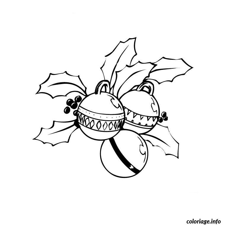 Coloriage Fetes Noel dessin