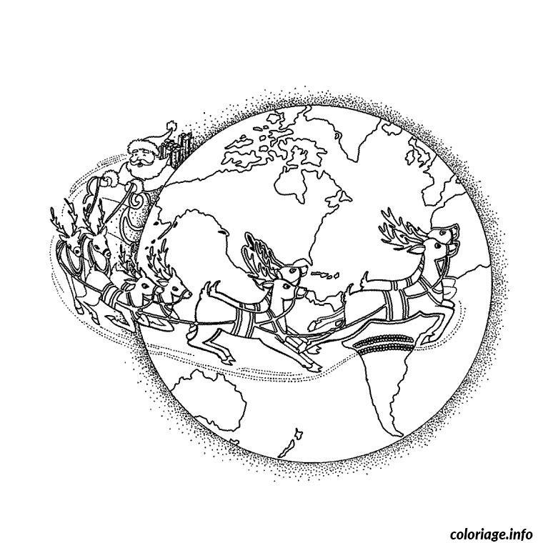 Coloriage Noel Du Monde dessin