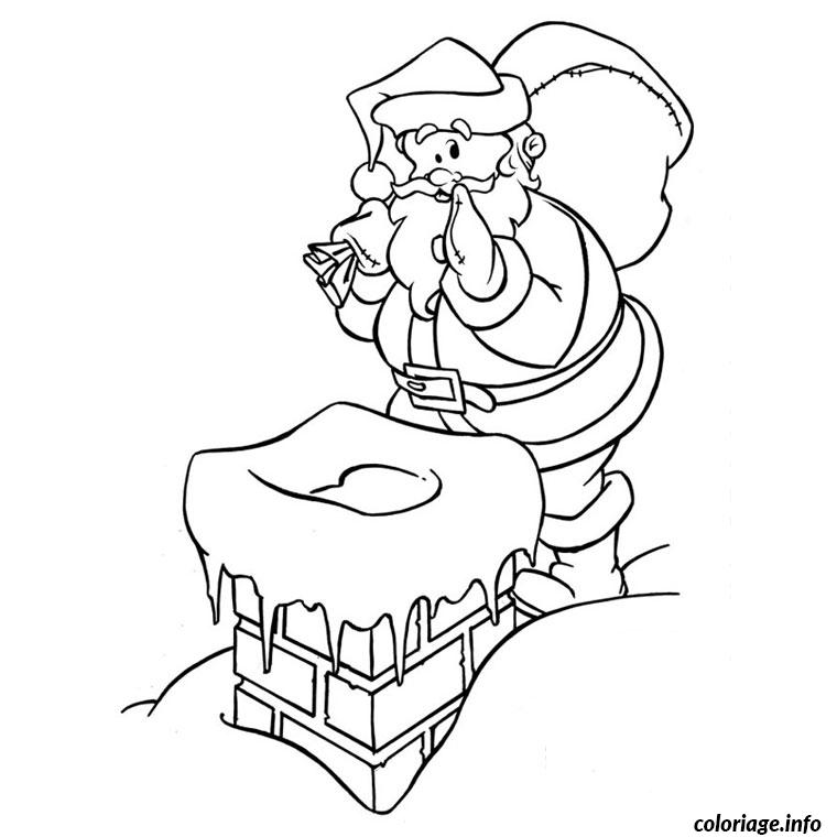 coloriage noel pere noel dessin. Black Bedroom Furniture Sets. Home Design Ideas