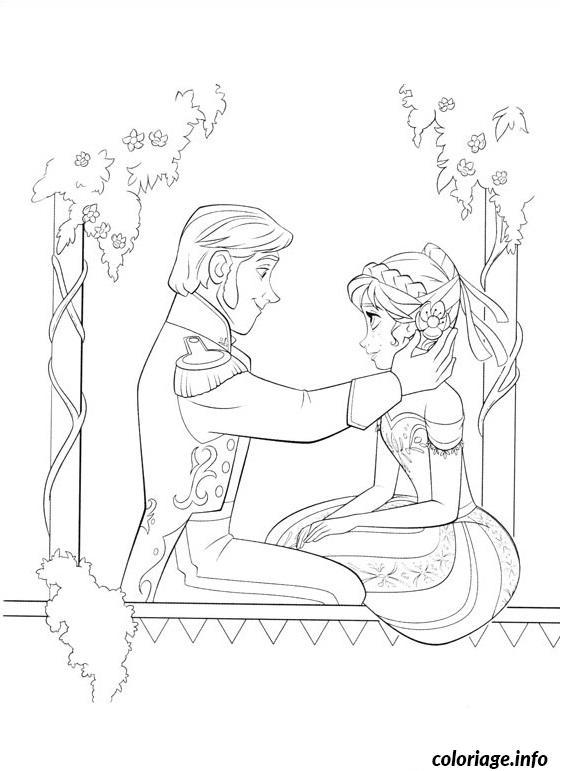 Dessin le prince hans Coloriage Gratuit à Imprimer