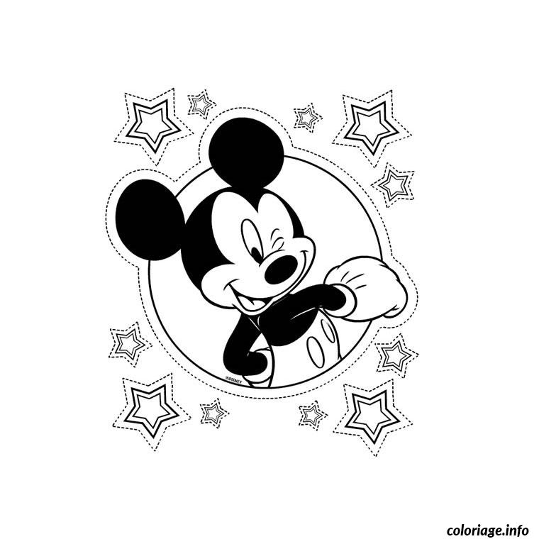 Coloriage mickey mouse - Dessins animes de mickey mouse ...