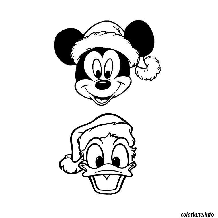 Coloriage mickey et donald dessin - Donald coloriage ...