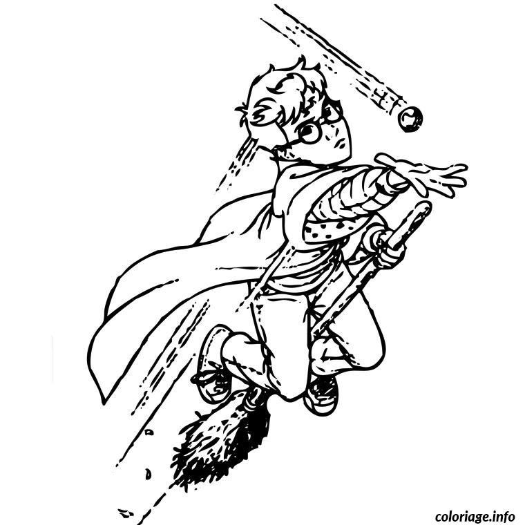 Coloriage harry potter 1 - Coloriage harry potter ...