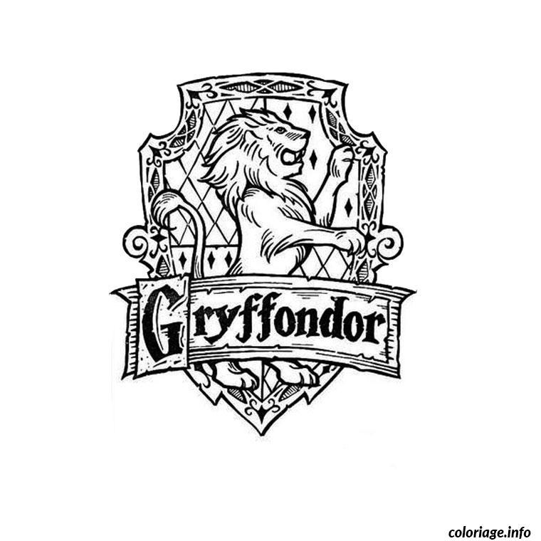 Coloriage Harry Potter Et La Coupe De Feu Dessin