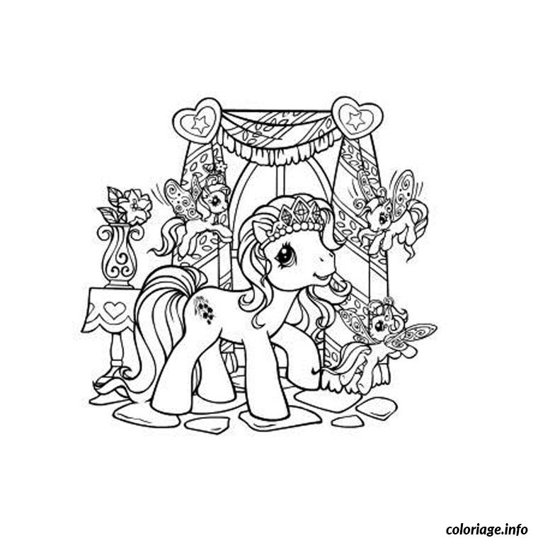 Coloriage pet shop poney - Dessin a colorier petshop ...