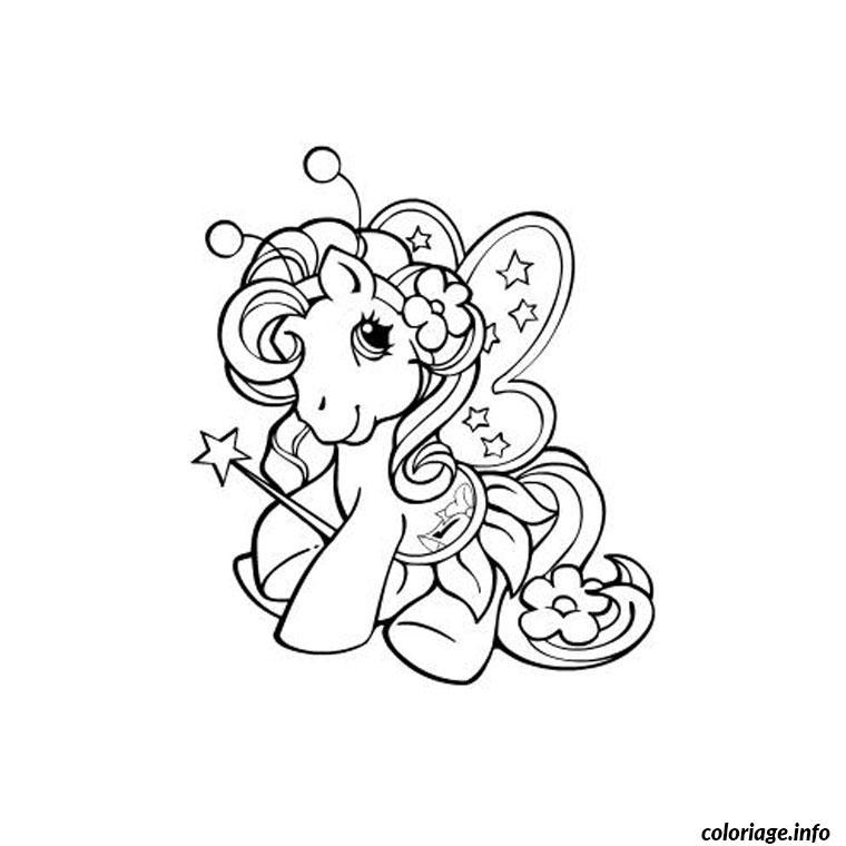 Coloriage petit poney princesse dessin - Coloriage petit poney ...