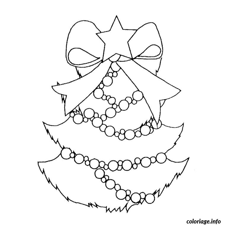 Coloriage sapin de noel dessin for Decoration de noel dessin