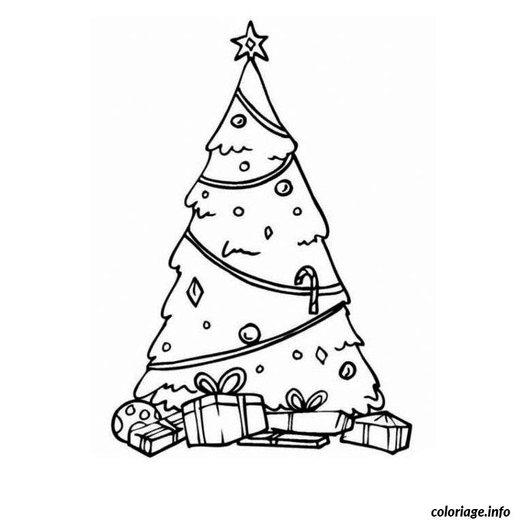 Coloriage sapin enneige dessin - Sapin dessin colorier ...