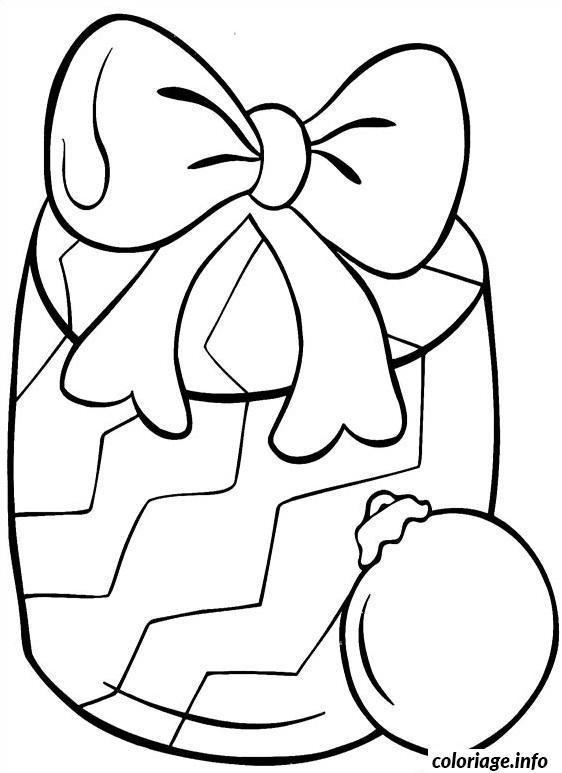 Coloriage cadeaux de noel simple - Dessins cadeaux ...