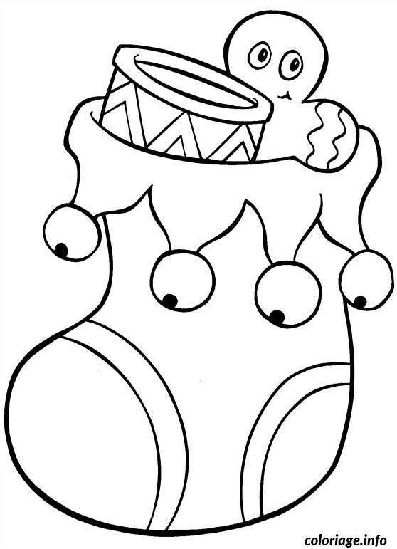 Dessin Chaussette De Noel Simple : coloriage chaussette grelot noel dessin ~ Pogadajmy.info Styles, Décorations et Voitures