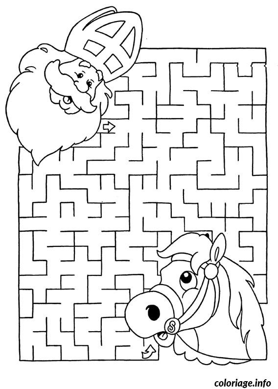 excellent dessin labyrinthe jeux noel coloriage gratuit. Black Bedroom Furniture Sets. Home Design Ideas