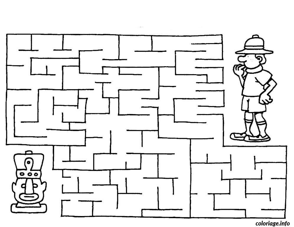 Coloriage labyrinthe jeux 17 dessin - Jeux dessin gratuit ...