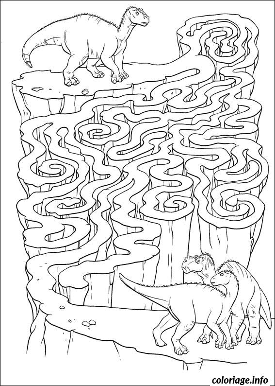 coloriage jeux labyrinthe dinosaure. Black Bedroom Furniture Sets. Home Design Ideas