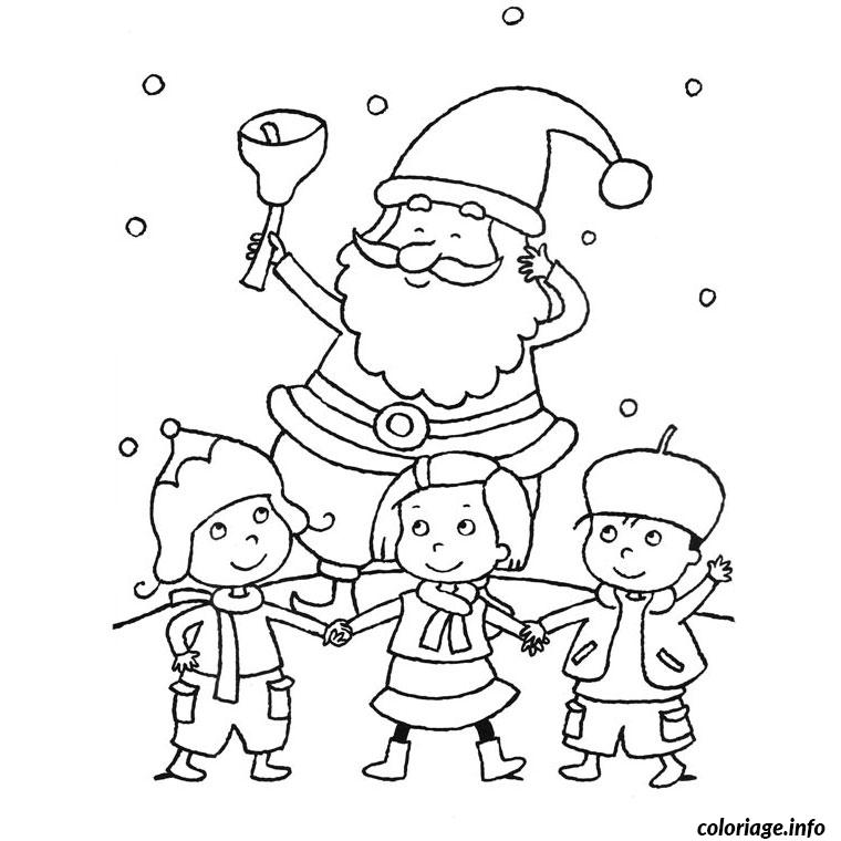 Coloriage noel maternelle facile simple dessin - Noel coloriage ...