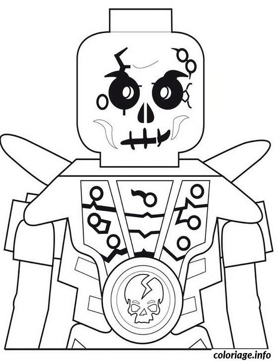 Dessin ninjago chopov squelette de la terre Coloriage Gratuit à Imprimer