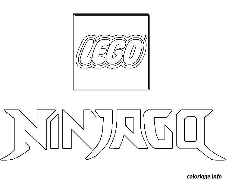 Dessin logo ninjago Coloriage Gratuit à Imprimer